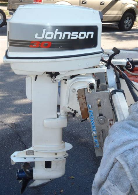 20 Horse Johnson Boat Motor by 30 Hp Johnson Long Shaft Outboard Boat Motor For Sale