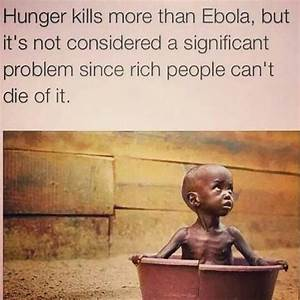 Each year, 2.6 million children die as a result of hunger ...