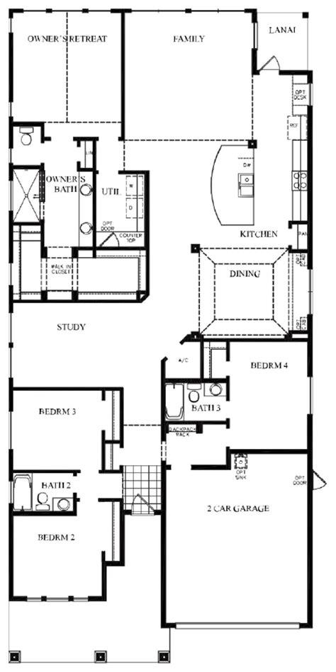 single story living from david weekley homes