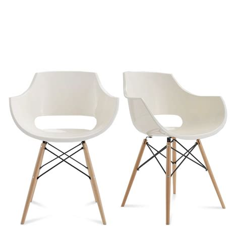 chaise designer banche skoll pi 232 tement bois by drawer