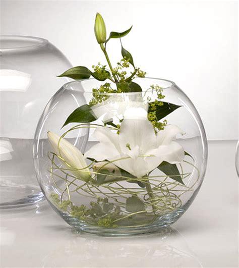 le vase g 233 ant boule en verre centre de table luxe bougies d 233 coratives mariage