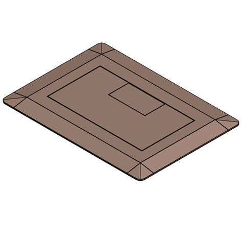 Carlon Floor Box E971fb by Conduit Fittings Bodies Outlet Boxes Accessories