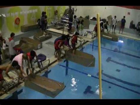 Cardboard Boat Videos by Skills Canada Ontario Cardboard Boat Race Video Youtube