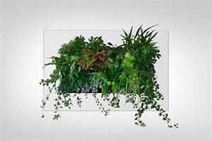 Pflanzen An Der Wand : gr ne wand raffinierter blickfang f r die wohnung ~ Markanthonyermac.com Haus und Dekorationen