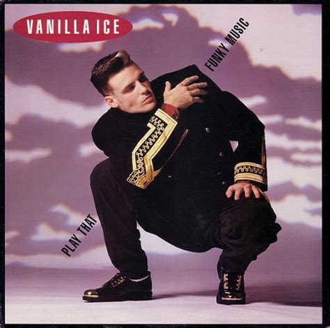 Ice Ice Baby Album Cover by Vanilla Ice Play That Funky Music Records Vinyl And Cds