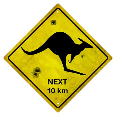 Kangaroo Souvenir Road Sign  Connect4designs. Owner Signs Of Stroke. Attention Signs. Labor Signs. Theautismhelper Signs. Health Signs Of Stroke. Ancient Greek Signs Of Stroke. Positive Affirmations Signs. Low Signs