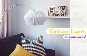 Hängelampe Selber Machen : diy origami lampe selbstgemacht oder die unendliche suche nach einer esstisch lampe au erdem ~ Markanthonyermac.com Haus und Dekorationen