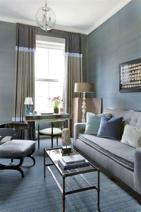 brown blue living room decor decobizz