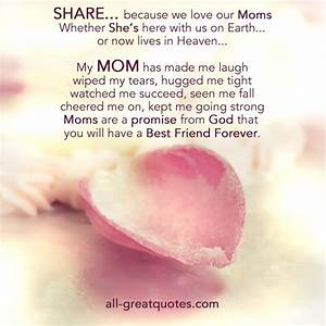 In Loving Memory Cards For Mom | We love our Moms