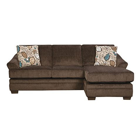 Simmons Sofas At Big Lots by Simmons 174 Sunflower Brown Sofa With Reversible Chaise Big