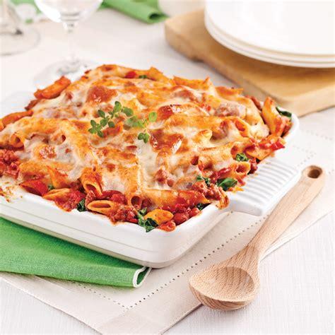 gratin de p 226 tes sauce italienne aux tomates s 233 ch 233 es recettes cuisine et nutrition pratico
