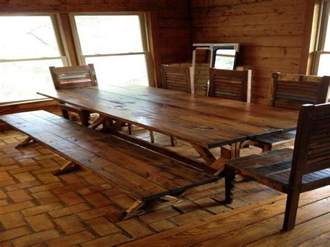 Rustic Wood Dining Tables #