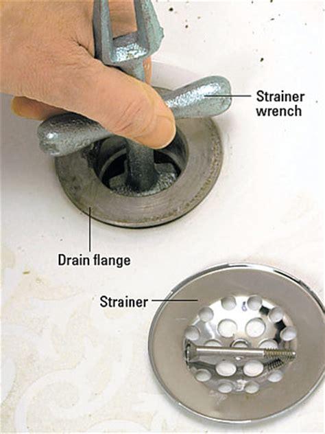 bathtub drain strainer replacement removing a bathtub how to remove a bath tub diy