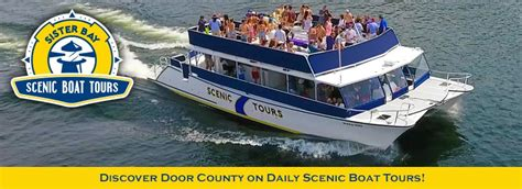 Sister Bay Boat Tours by Door County Scenic Boat Tours Out Of The Sister Bay Wi Marina