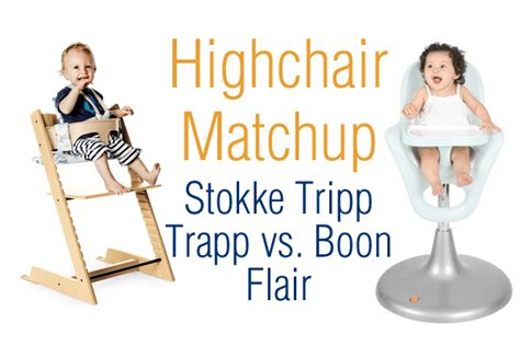highchair matchup stokke tripp trapp vs boon flair
