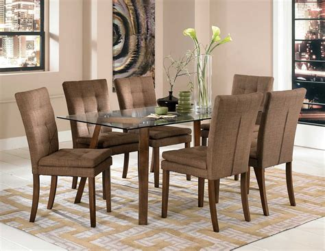 High Quality 7 Pc Dining Set #2 Natural Dining Table Sets