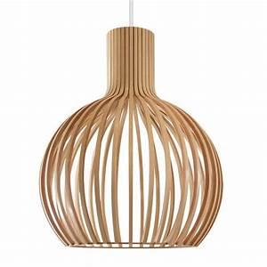 Deckenlampe Aus Holz : holz deckenleuchte glas pendelleuchte modern ~ Markanthonyermac.com Haus und Dekorationen