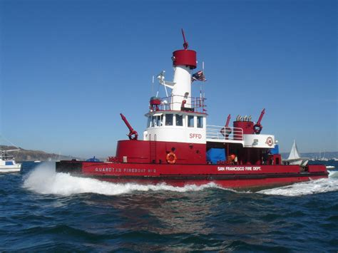 Vancouver Fire Boat 3 by Fire Engines Photos Fireboat Guardian Sffd