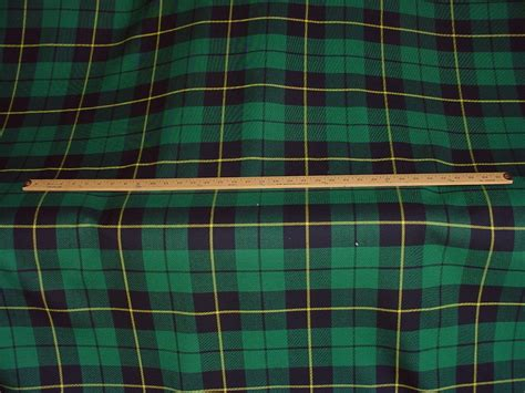 5 ralph wool tartan plaid upholstery fabric ebay