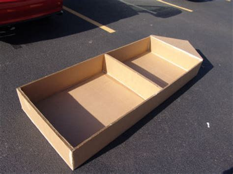 How To Make A Cardboard Boat With Only Duct Tape by Cape Coral Cardboard Boat Regatta How To Build A Boat