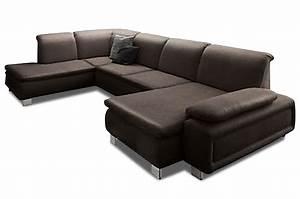 Sofa Relaxfunktion Günstig : leder wohnlandschaft braun sofas zum halben preis ~ Markanthonyermac.com Haus und Dekorationen