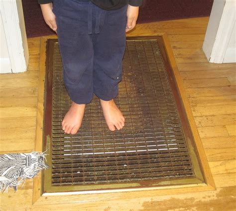 heating how can i protect my toes from this evil grating in the floor home