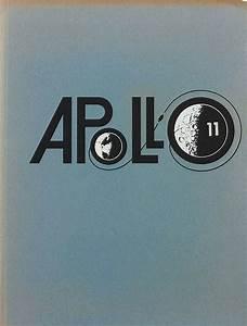 Apollo 11 Mission Logo Design as used in Vintage NASA Brochure