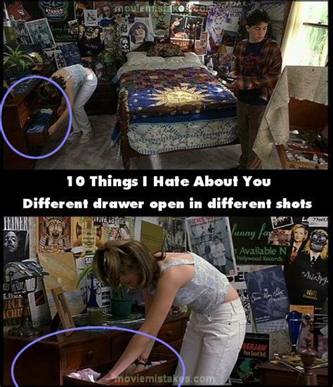 10 Things I Hate About You Movie Mistake Picture 2