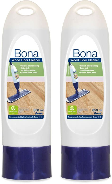 sale on bona set of 2 850ml wood floor cleaner cartridges