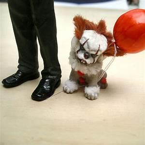 OOAK Dog Fantasy Creature Horror Pennywise IT Halloween ...