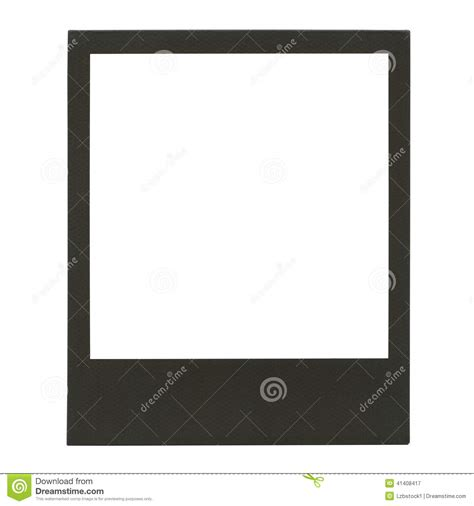 cadre polaro 239 d vide de photo photo stock image 41408417
