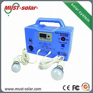 Small Complete Solar System Kit 20w 30w For Light Best ...