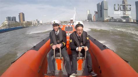 Speedboot Varen Rotterdam by Rib Experience Vol Gas Over De Maas Youtube