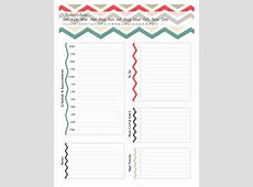 40+ Printable Daily Planner Templates FREE Template Lab