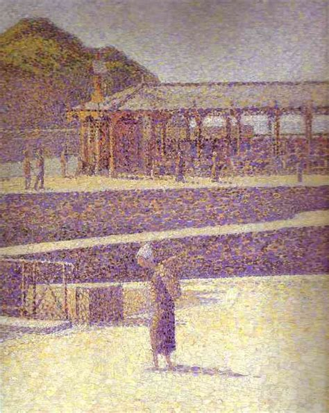 georges seurat painted painting reproductions