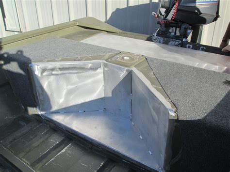 Boat Gas Tank Hatch by Custom Fabrication Fishon Fabrications