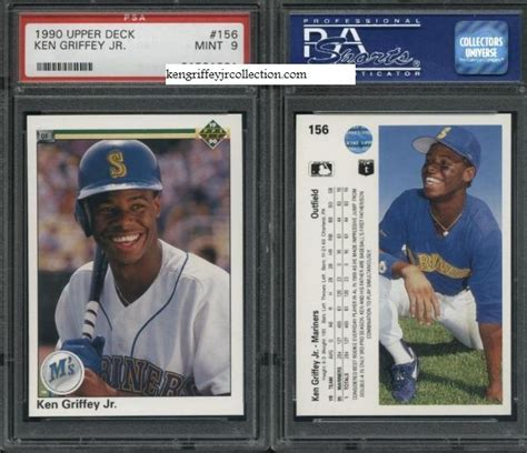 psa card set registry bouffard s griffey jr cards