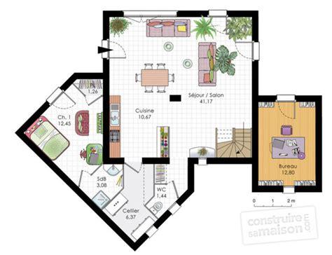 faire un plan interieur de maison gratuit maison moderne