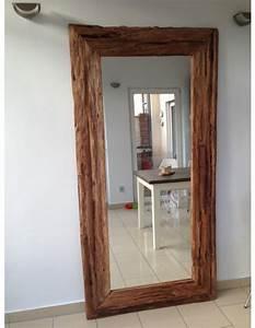 Spiegel 200 X 100 : spiegel massivholz teak wandspiegel altholz ma e 200 x 80 cm ~ Markanthonyermac.com Haus und Dekorationen