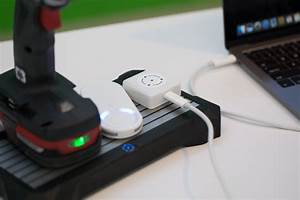 Fli Charge demonstrates its charging pad with Craftsman ...