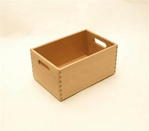 Holzkiste Für Spielzeug : holzkiste holzbox aus buche lackiert 30 x 20 x 15 cm wohn accessoires holzkisten holzboxen ~ Markanthonyermac.com Haus und Dekorationen