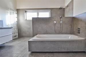 Beton Cire Verarbeitung : beton cire oberfl chen in beton look modernes beton cire bad ~ Markanthonyermac.com Haus und Dekorationen