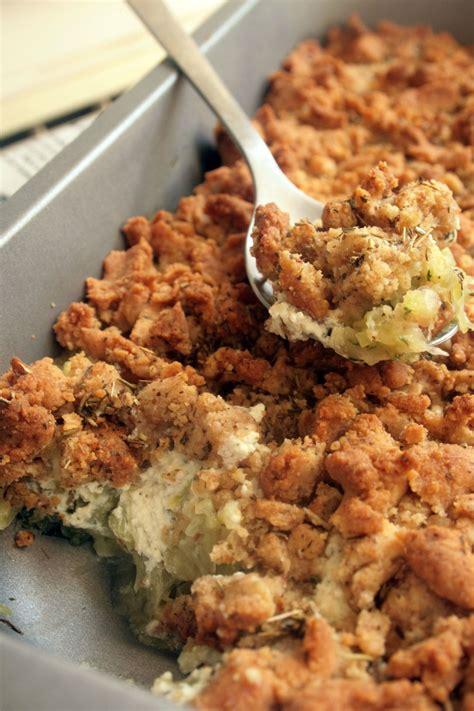 crumble sal 233 courgettes et boursin belette cuisine