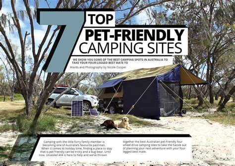 7 Top Petfriendly Camping Sites  Unsealed 4x4