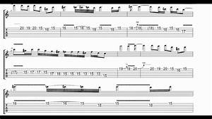 November Rain Outro Solo With Tabs And Backing Track - YouTube