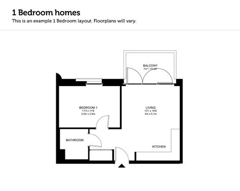 this avondale floor plan is one of the best family 1 bedroom modular home floor plans cottage house plans