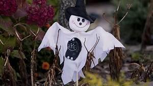 Gruselige Halloween Deko : halloween deko basteln gruselige geistergirlande ~ Markanthonyermac.com Haus und Dekorationen