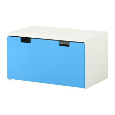 stuva banc coffre blanc bleu ikea