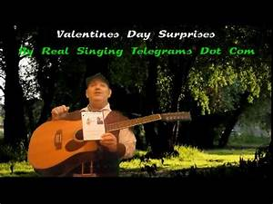 Valentines Day at Real Singing Telegrams Dot Com - YouTube