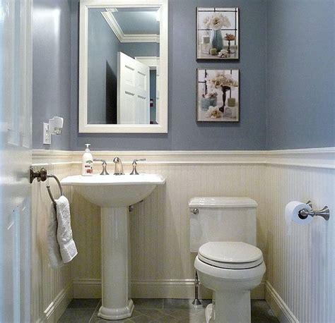 dunstable blue and white half bath half baths bath and